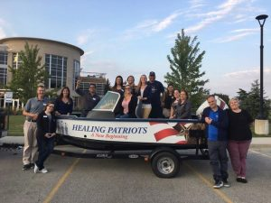 Healing Patriots, Ozaukee Scholastic Shooting Sports Club, Trapshoot Event
