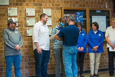"Healing Patriots Helps Gift A ""Battle Buddy"" To A CUW Veteran Student"