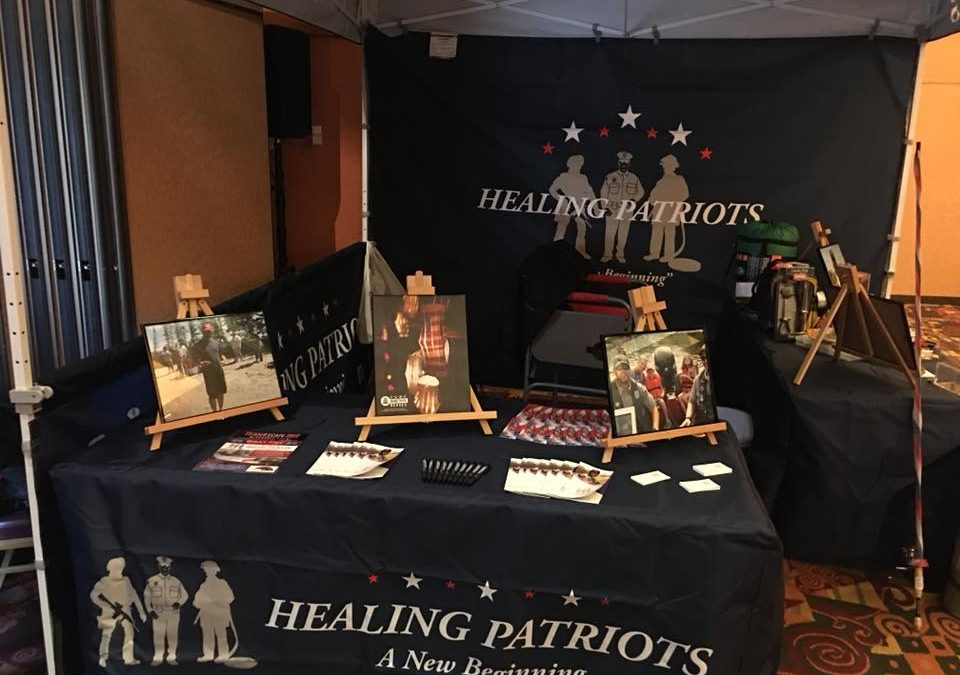 Healing Patriots Booth at Milwaukee Muskie Expo