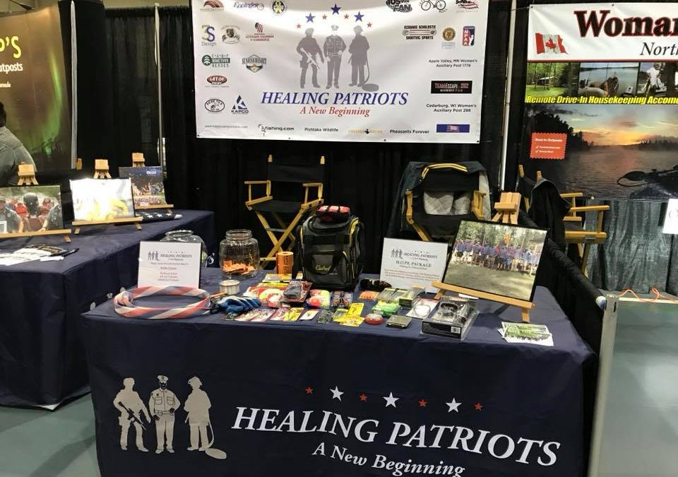 Healing Patriots Booth at All Canada Show | Milwaukee Sports Complex