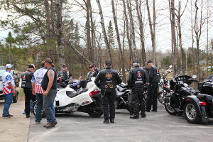 Healing Patriots, Processional, Legion Riders of District 11