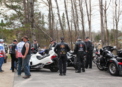 Healing Patriots Processional with Legion Riders of District 11