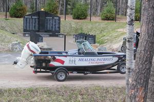 Healing Patriots, HP Boat, Memorial Service, Presque Isle