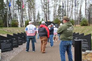Healing Patriots, Presque Isle, Memorial Service,