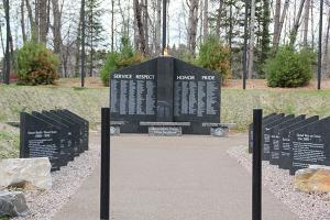 Healing Patriots, HPX1, Military Memorial, Presque Isle
