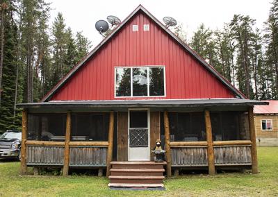 Main Building at Happy Camp