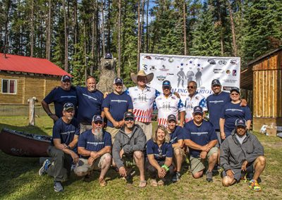 Healing Patriots HPX2 Staff and Guests