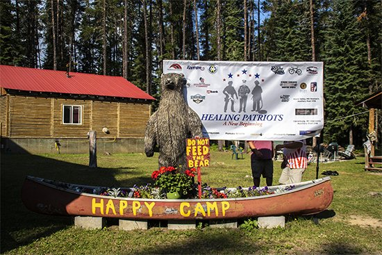 Healing Patriots, Expedition, Canada, Happy Camp, Ontario