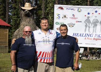 Healing Patriots Guest and Fishing Team
