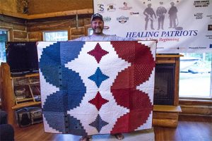 Healing Patriots, Expedition, Canada, Ontario, Quilt,
