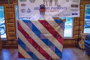 Healing Patriots, Expedition, Canada, Happy Camp, Quilt, Guest
