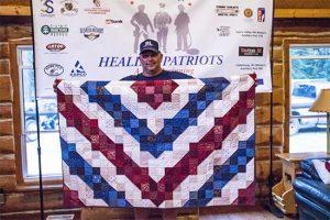 Healing Patriots, Expedition, Canada, Happy Camp, Ontario, Quilt