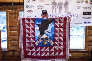 Healing Patriots, Expedition, Canada, Happy Camp, Quilt, Ontario