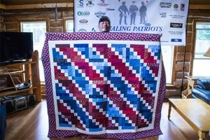 Healing Patriots, Expedition, Happy Camp, Quilt, Canada