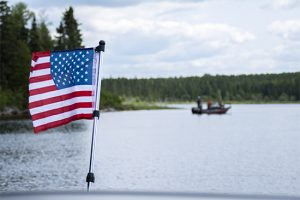 Healing Patriots, Expedition, Fishing, Canada, Happy Camp, American Flag, Veterans, First Responders