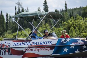 Healing Patriots, Expedition, HPX2, Fishing, Canada, Happy Camp