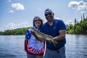 Healing Patriots, Expedition, Fishing, Happy Camp, Ontario