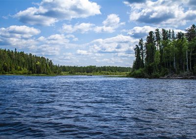 Otter Tail Lake in Canada