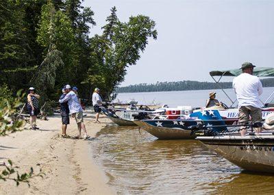 Healing Patriots, Canada, Happy Camp, Fishing
