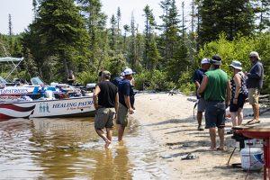 Healing Patriots, Expedition, Canada, Shorelunch,