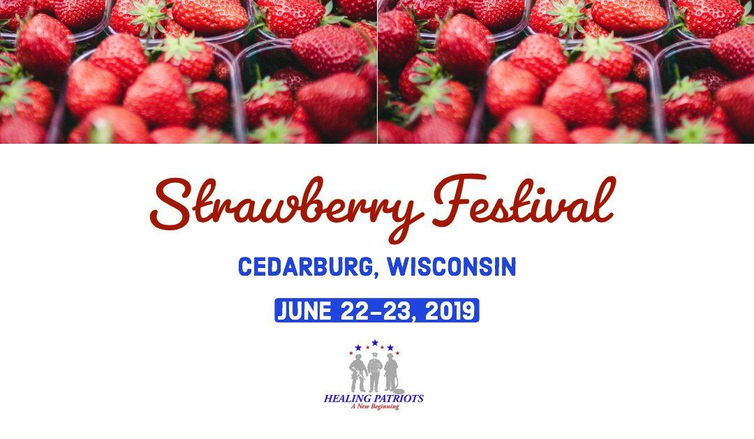 Healing Patriots Booth | Strawberry Festival | Cedarburg, WI