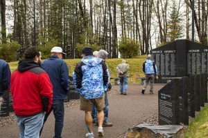 Healing Patriots, Expedition, Presque Isle, War Memorial