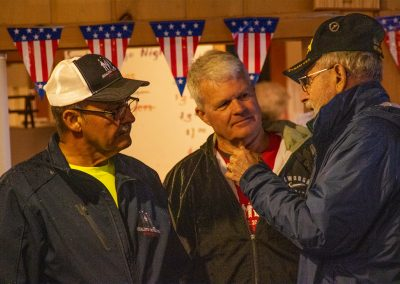 Veterans connecting at the American Legion