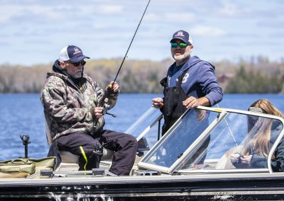 Healing Patriots, Expedition, Presque Isle, Fishing
