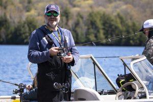Healing Patriots, Expedition, Presque Isle, Fishing, Guide, Volunteer