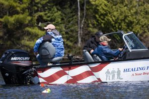 Healing Patriots, Expedition, Presque Isle, Fishing, First Responder