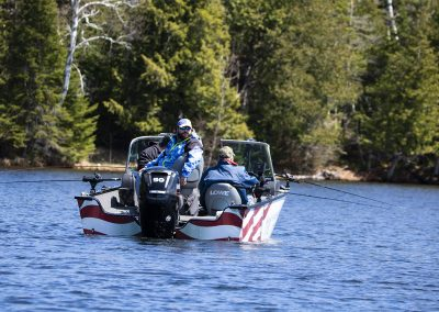 Healing Patriots, Expedition, Presque Isle, Guest, Fishing