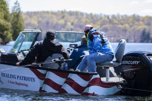 Healing Patriots, Expedition, Presque Isle, Fishing, Guest