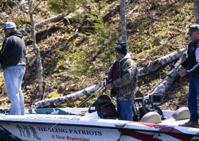 Healing Patriots, Expedition, Fishing, Boat Crew