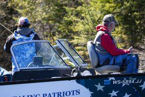 Healing Patriots, Fishing, Volunteer, Veteran, Guest
