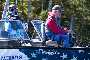 Healing Patriots, Fishing, Presque Isle, Guest, Veteran