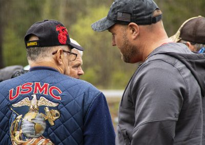 Veteran and First Responder guest remembering and honoring the fallen