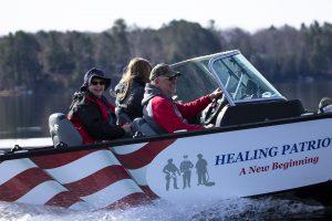 Healing Patriots, Expedition, Volunteers, Presque Isle,