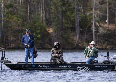 Healing Patriots Guests Fishing