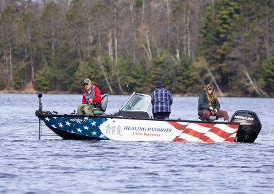 Healing Patriots, Expedition, Presque Isle, Fishing, Volunteers