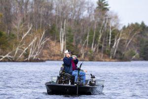 Healing Patriots, Expedition, Presque Isle, Veteran, Fishing