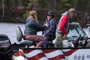 Healing Patriots, Expedition, Presque Isle, Fishing