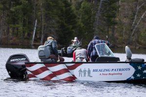 Healing Patriots, Expedition, Fishing,
